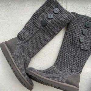 Ugg Cardi Sweater Boots Size 8